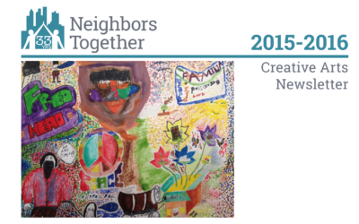 In Our Members' Own Words and Images: Creative Arts Newsletter 2015-2016